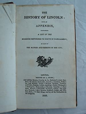 THE HISTORY OF LINCOLN