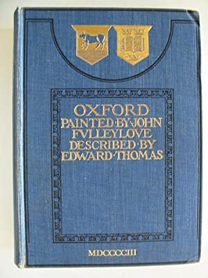OXFORD: Thomas, Edward