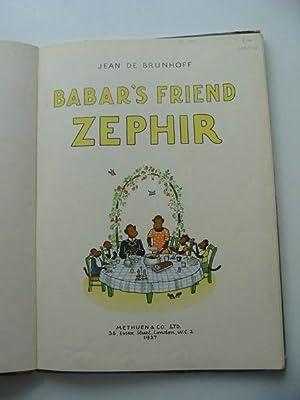 BABAR'S FRIEND ZEPHIR: De Brunhoff, Jean