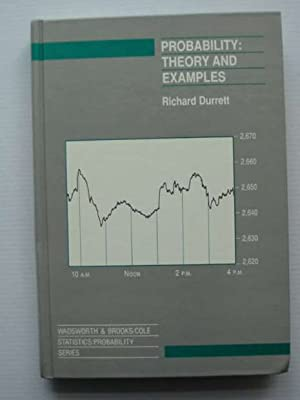 PROBABILITY THEORY AND EXAMPLES: Durrett, Richard