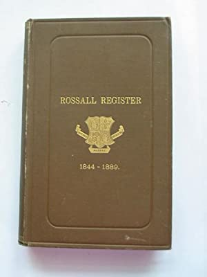 THE ROSSALL REGISTER 1844-1889: King, W.