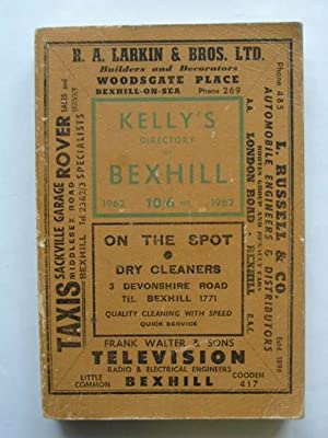 KELLY'S DIRECTORY OF BEXHILL