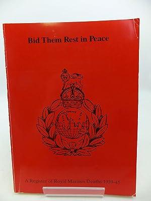 A REGISTER OF ROYAL MARINES WAR DEATHS 1939-1945