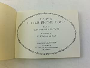BABY'S LITTLE RHYME BOOK
