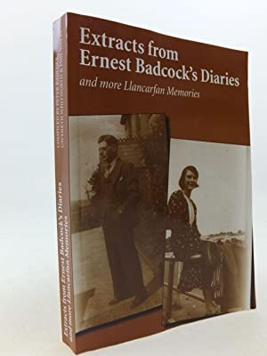 EXTRACTS FROM ERNEST BADCOCK'S DIARIES AND MORE: Badcock, Peter &