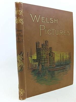 WELSH PICTURES DRAWN WITH PEN AND PENCIL: Lovett, Richard & Lloyd, J.E. & et al,