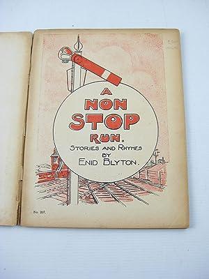 A NON STOP RUN: Blyton, Enid