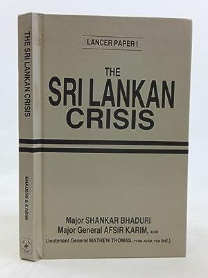 THE SRI LANKAN CRISIS: Bhaduri, Shankar &