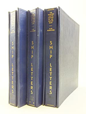 A HISTORY OF THE SHIP LETTERS OF THE BRITISH ISLES (3 VOLUMES): Robertson, Alan W.