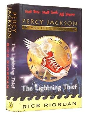 PERCY JACKSON AND THE OLYMPIANS: THE LIGHTNING: Riordan, Rick