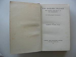 THE ENGLISH VILLAGE: Peake, Harold