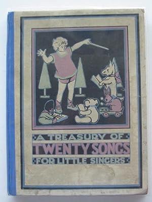 A TREASURY OF TWENTY SONGS FOR LITTLE: Wilson, Marjorie &