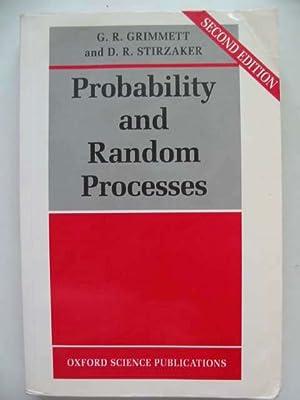 PROBABILITY AND RANDOM PROCESSES: Grimmett, Geoffrey &