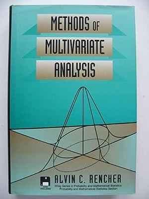 METHODS OF MULTIVARIATE ANALYSIS: Rencher, Alvin C.