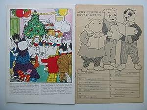 RUPERT'S CHRISTMAS CAROLS: Wells, Mick