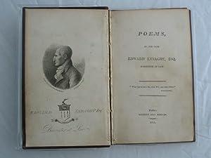 POEMS: Lysaght, Edward
