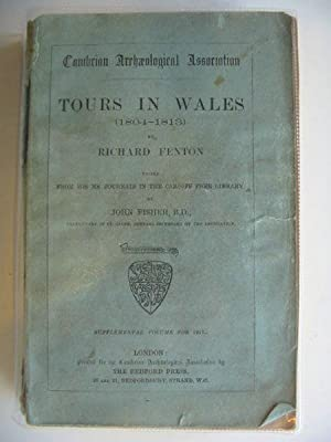 TOURS IN WALES (1804-1813): Fenton, Richard & Fisher, John