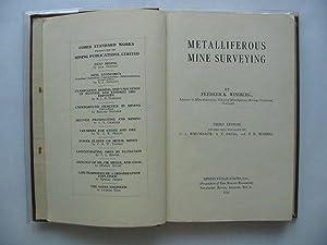 METALLIFEROUS MINE SURVEYING: Winiberg, Frederick &