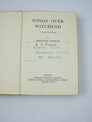 WINGS OVER WITCHEND: Saville, Malcolm