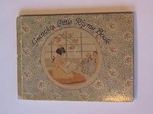 GRANNIE'S LITTLE RHYME BOOK