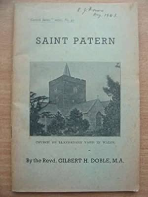 SAINT PATERN: Doble, Gilbert H.