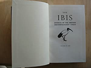 THE IBIS VOLUME 109