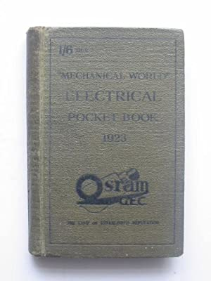 THE MECHANICAL WORLD ELECTRICAL POCKET BOOK 1923