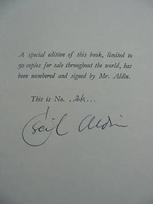 SCARLET TO M.F.H.: Aldin, Cecil