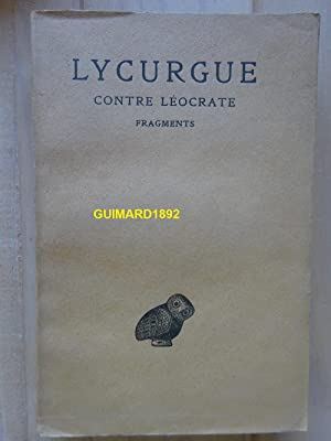 Contre Léocrate Fragments