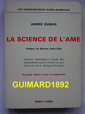 La Science de l'âme