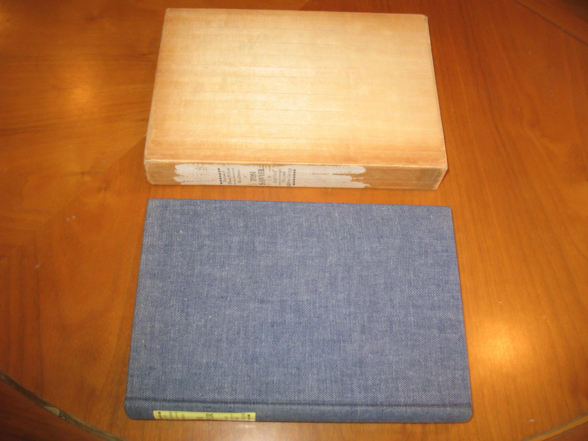 The Adventures Of Tom Sawyer, With A Prologue \boy's Manuscript\ Printed For The First Time Twain, Mark; Edited And With An Introduction By Bernard D