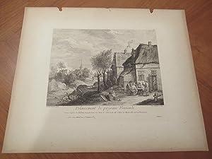 Delassement De Paysans Flamands, Grave Apres Le: Teniers, David and