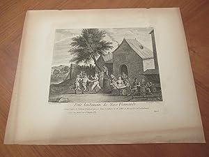 Petit Lendemain De Noce Flamande, Grave Apres: Teniers, David and