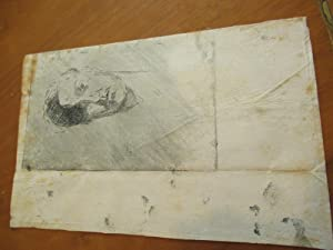 Original Letter, With His Only Etching, 1909, Paris