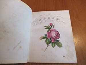 Album [An Illustrated Album, Here Used As A Sentiment Album For Sarah W. Ennis Giddings, Probably...
