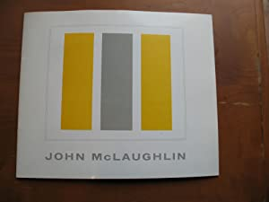 John Mclaughlin: A Retrospective Exhibition, Pasadena Art Museum, November 12 Through December 12...