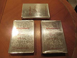 Aluminum: Properties, Physical Metallurgy and Phase Diagrams (Volumes 1,2,3)