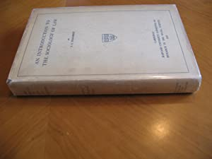 An Introduction To The Sociology Of Law (First Edition 1939)