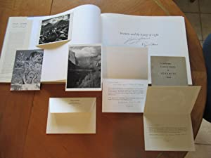 Ansel Adams : Yosemite And The Range Of Light (Inscribed; Also With) To Remember Christmas In Yos...