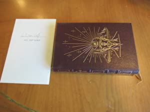 The World Of (Null) A (With Author's Un-Issued Signed Easton Press Page)