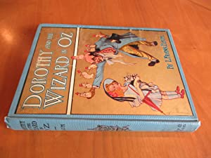 Dorothy And The Wizard In Oz (With Rare Olive-Green Endpapers)