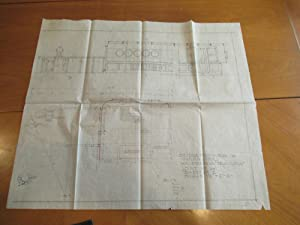 Three Original Architectural Drawings For Movie Set Used In
