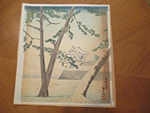 Japanese Scene (Original Color Print)