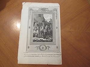 The American General Lee Taken Prisoner By: Engraving By W.