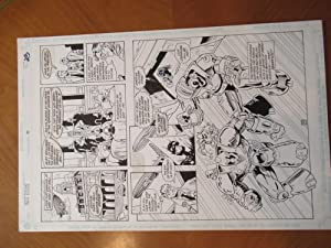 Original Comic Book Art