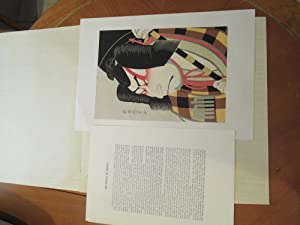 The History Of Ukiyo-E (Text And An Original Print)