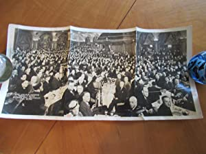 "Panoramic Photograph: ""Civic Luncheon Honoring Thonas E. Dewey, Biltmore Bowl Los Angeles April..."