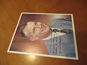 Original Inscribed Nasa Color Photograph Of Astronaut Donald K.