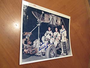 Original Nasa Color Photograph Inscribed By Apollo 15 Astronauts David R. Scott, Alfred M. Worden...