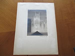 Original Photograph- Church Or Cathedral, By Cecil: Photograph By Cecil